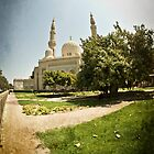 Jumeirah Mosque by Chris Cardwell