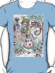 Alice & The Pig Baby T-Shirt