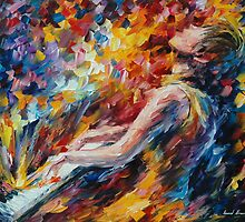 MUSIC FIGHT - LEONID AFREMOV by Leonid  Afremov
