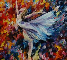 THE BEAUTY OF DANCE - LEONID AFREMOV by Leonid  Afremov