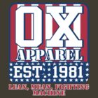Ox Apparel by Blackwing