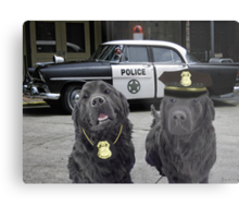 """☞ º°""""˜`""""°☜♥☞CANINE POLICE DOGS- BAD BOYS THEME TAKEN FROM THEME SONG ☞ º°""""˜`""""°☜♥☞ Metal Print"""