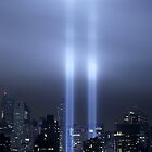 WTC Memorial Lights by mjdorn
