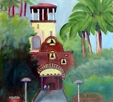 Riverside Mission Inn by Robert Benjamin