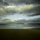 The Storm is Coming - Bateau Bay Beach by Jacob Jackson