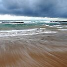 Water Movement - Bateau Bay Beach by Jacob Jackson