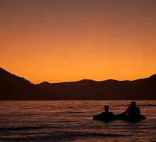 Fishing For Sunsets by Andrew Lapierre