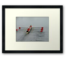 team armstrong Framed Print