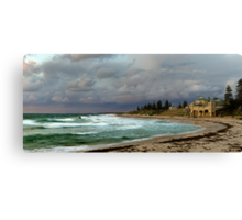 """Stormy Cottesloe Sunset"" Cottesloe Beach, Western Australia Canvas Print"
