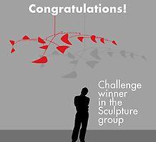 Banner - Challenge winner in the Sculpture group by Alex Preiss