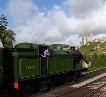Corfe Castle station by Mike Streeter