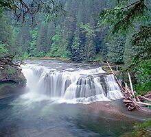 Lower Lewis Falls by leksele