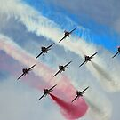 Red Arrows by Paul Blackwell