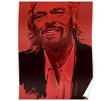 Branson in Red Poster