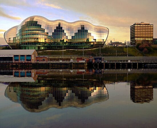 The Sage, Gateshead, England by jrsisson