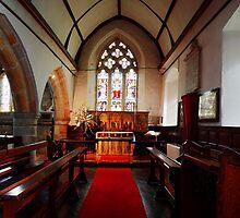 St Thomas Becket, Brightling - Chancel by Dave Godden