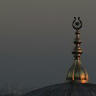 Gold Dusk Mosque by Kelvin Hayes