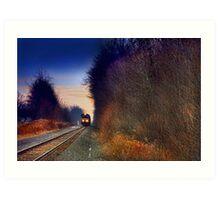 """"""" Sunset Express """" Art Print"""