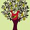 And a Partridge in a Pear Tree  by Wendy Howarth