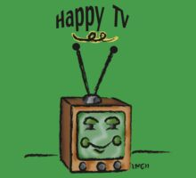 Happy TV~(C) by Lisa Michelle Garrett