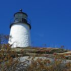 Pemiquid Point  Lighthouse, Maine by irmajxxx