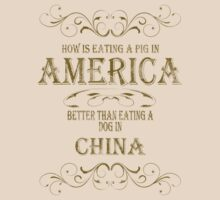Pig in America by veganese