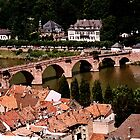 Heidelberg in Water Colors by Timothy L. Gernert