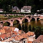 Heidelberg in Water Colors by gernerttl