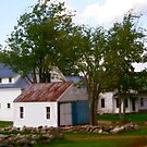 Old Maine Homestead by Judith Hayes