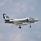 A-4 Skyhawk by Anthony Roma