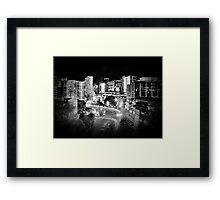 Mayoral Drive, Downtown Auckland, New Zealand. Framed Print