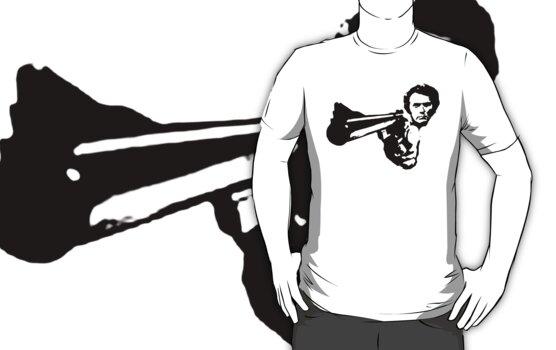a dirty harry t-shirt by ralphyboy