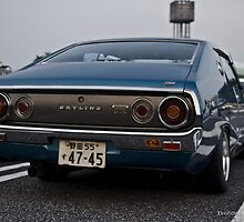 Old Skool Skyline, Japan by Drofidits