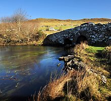 Quiet Man Bridge, Connemara. Ireland by JoeTravers