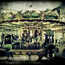 Carnival of Treasures - antique carousel, Rome by L. J. Carter