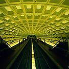 Metro Station by Lorena María