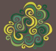 Swirly Emblem Kids Clothes