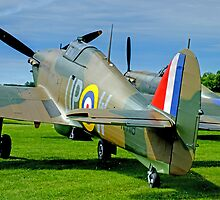 Twin Hurricanes  by Colin J Williams Photography