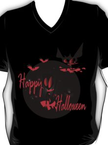 happy halloween horror fantasy vector art T-Shirt