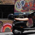 Vespa moves to Melbourne by Hollyis