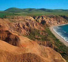 Sellick's Beach cliffs, Fleurieu Peninsula by shallay