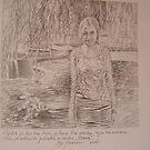 Vesna, work in pencil by sejramic