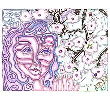 'Alight with Blossom' ~ Original Pieces Art™ Photographic Print