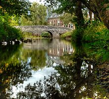 """Bridge over the river Clun"" by Bradley Shawn  Rabon"