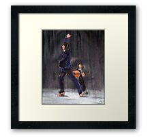 Flamenco Male Framed Print