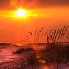 Fort Walton Beach Sunset by Kathy Cline
