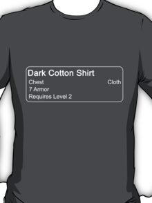 Dark Cotton Shirt T-Shirt