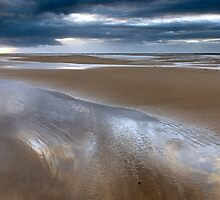 On Covesea Beach by Jim Robertson