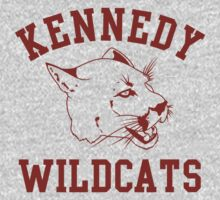 Kennedy Wildcats by waywardtees