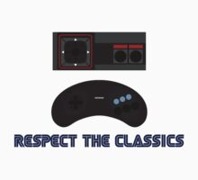 SEGA Retro Gaming Respect the Classics Kids Clothes